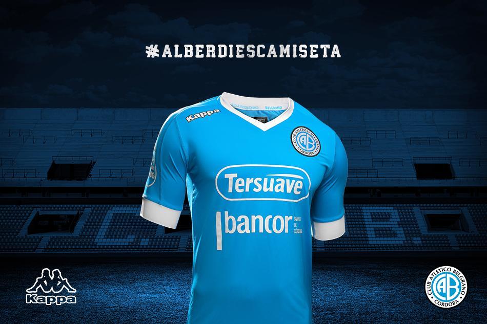 2f361d88f0d65 Belgrano presentó su nueva camiseta Kappa