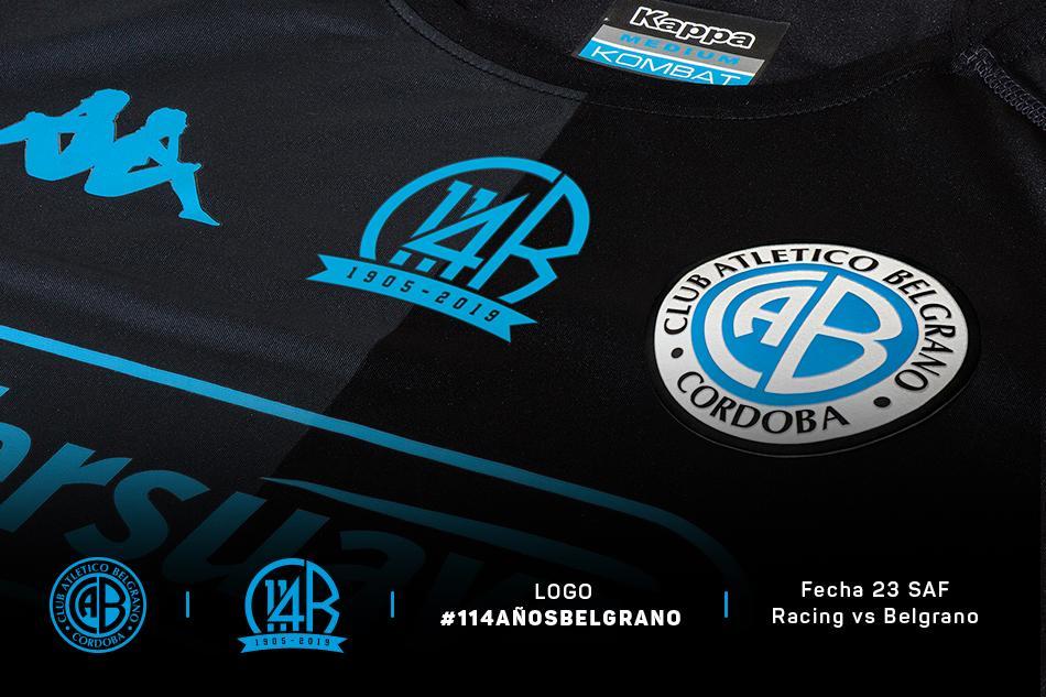 f4450037bf48e Camiseta con escudo 114 Años Belgrano