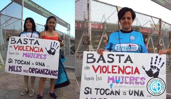 Belgrano, contra la violencia de género | Club Atlético Belgrano - Sitio  Oficial